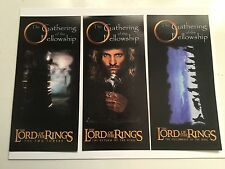 Lord of the Rings three rare movie tickets set