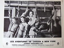JOHNNY WEISSMULLER PHOTO EXPLOITATION LOBBY CARD TARZAN A NEW-YORK TRAMWAY