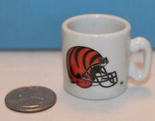 Cincinnati Bengals NFL Football MINI Mug Cup Shot Glass Shotglass Ceramic
