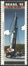 Brazil 1990 Rocket Launch/Space/Weapons/Military/Science 1v (n32188)