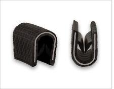 Kantenschutzprofil schwarz für 1-2 mm Kederband Dichtungsprofil Kantenschutz