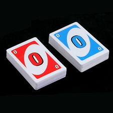 Family Funny Entertainment Board Game UNO Fun Poker Playing Cards Puzzle Game 5Y