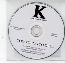 (DS293) K, Too Young To Die - DJ CD