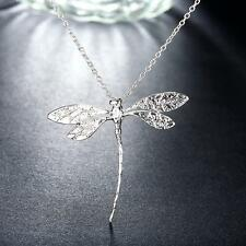 Wholesale Lady's Attractive Sterling Solid Silver Dragonfly Pendant