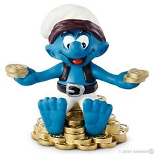 Smurfs - Treasure Hunter Pirate Smurf (Schleich) *NEW* 2014
