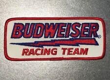 """Budweiser Beer Racing Team Nascar Patch Bud Bud Light Anheuser-Busch 2.5"""" x 6"""""""