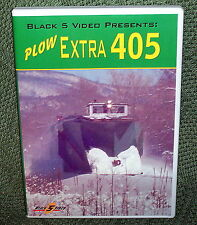 "b004 TRAIN VIDEO DVD ""SNOW PLOW EXTRA 405"" ALCO RS1 NEW ENGLAND"