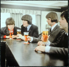 THE BEATLES POSTER PAGE 1965 FILMING HELP! MOVIE JOHN LENNON GEORGE HARRISON J32
