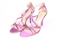 Nine West Altemis Womens Open Toe Textile Dress Sandals Shoes Purple  8M US NWD