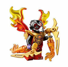 LEGO Legends of Chima RAZAR RAVEN MINIFIGURE Crow w/ Weapons NEW Authentic 70223