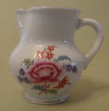 HEREND China NIANG NANKING BOUQUET Vintage Porcelain PEONY CREAMER MILK JUG