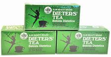 3 Cajas De Dieta' Tea Bebida Dietetica Slim Belleza Marca Dieta 54 Tea Bags