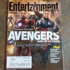 ROBERT DOWNEY JR Entertainment Weekly July 2014 CHRIS EVANS Avengers Age of Ultr
