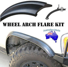 65MM FLEXIBLE WHEEL ARCH FLARES FLEXI RUBBER SUIT ALL 4WD UNIVERSAL 2 WHEEL SET