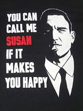 SNATCH - BULLET TOOTH TONY - YOU CAN CALL ME SUSAN - SMALL BLACK T-SHIRT B536