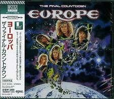 EUROPE FINAL COUNTDOWN CD +3 - 2013 JAPAN RMST HIGH FIDELITY BLU-SPEC CD2 FORMAT