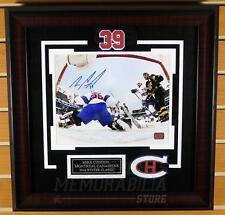 Mike Condon Montreal Canadiens Signed Autographed Winter Classic 8x10 Framed