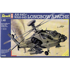 REVELL AH-64D Longbow Apache Helicopter 1:48 Aircraft Model Kit - 04420