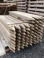 1.8m Green Tanalised Post 125x75mm 4 way pointed - Post & Rail - £5.95