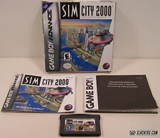 SimCity 2000 (Game Boy Advance) COMPLETE IN BOX!!!