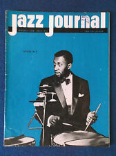Jazz Journal January 1958 magazine. Connie Kay on cover.