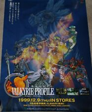 ULTRA RARE Valkyrie Profile Playstation Promo Poster Lenneth triAce PSX PS1 Enix