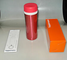 Tupperware Thermo-Flasche Thermo-Becher Isolierflasche 420 ml mit Siebeinsatz