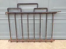 Vtg Mid-Century Heavy Cast Wrought Iron Garden Yard GATE Fence Art Deco Antique