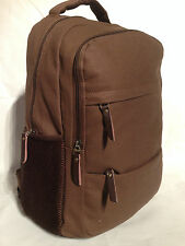 Brown Canvas Vintage Style  Backpack