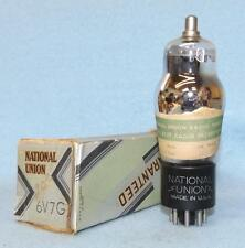 1 National Union NU 6V7G 6V7 G Vacuum Tube NOS/NIB Tested