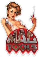MAC TOOLS BEAUTIFUL LADY STICKER / DECAL