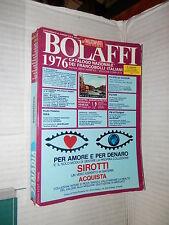 CATALOGO NAZIONALE DEI FRANCOBOLLI ITALIANI BOLAFFI 1976 Edizioni SCOT manuale