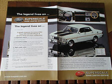 TRAX CATALOGUE 1970 XW FORD FALCON GTHO PHASE II SUPER RARE LIMITED EDITION