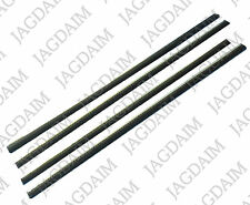 JAGUAR DAIMLER OUTER DOOR GLASS WEATHERSTRIP MK 2, V8, S-TYPE, 420 BD20010/3 X 4