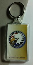 NEW AS-IS TEAM AMERICA TITLE NAME CARTOON SYMBOL MOVIE AS-IS KEY CHAIN KEYCHAIN