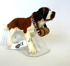 W2) NEW PAPO (54009) St. bernard with Barrel Dog Dogs Animal figure figurine