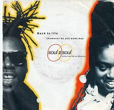 "Soul II Soul - Back To Life 7"" Single  1989"