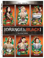 ORANGE IS THE NEW BLACK: SEASON 3 DVD - THE COMPLETE THIRD SEASON [4 DISCS] NEW