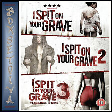I SPIT ON YOUR GRAVE 1 2 & 3 - TRILOGY *BRAND NEW DVD BOXSET***