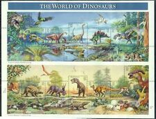 SCOTT 3136 WORLD OF DINOSAURS 32ct 15 STAMP SHEET