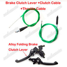 Brake Lever Clutch Cable Green For 110cc 125cc 150cc Pit Dirt Bike CRF50 SSR KLX