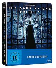 Batman The Dark Knight Trilogy - Blu-Ray Steelbook - x5 Blu Ray Discs -