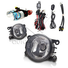 CR-V,Accord 2Dr,CR-Z,Fit,Civic SI,Pilot Fog Lamp w/Wiring & HID Kit- Clear