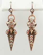 NEW KIRKS FOLLY EYE OF THE RAVEN LEVERBACK EARRINGS COPPERTONE NEW RELEASE~~