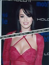 KATY PERRY SEXY!! COLOR CANDID 8x10 PHOTO HOT LOWCUT DRESS!! #057