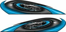 Boat Car Truck Trailer Motorcycle Graphics Decal Vinyl Stickers wrap 2- 25""