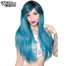 ROCKSTAR WIGS® BELLA DARK ROOT™ COLLECTION - TURQUOISE