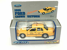 Taxi Cab Ford Crown Victoria Nueva York Amarillo Welly Diecast 1:43