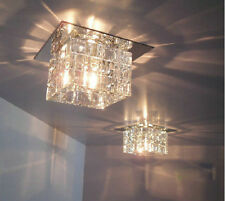 * LED 3W Crystal Ceiling Lamp Surface Or Embedded Mounted Home Light Lighting