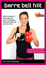KETTLEBELL FUSION EXERCISE DVD - Barlates Body Blitz BARRE BELL HIIT 3 workouts